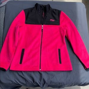 FILA Sport Pink Zip-up Jacket